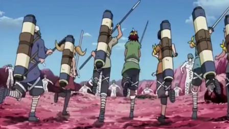 火影忍者:数千白绝干不过七个云隐的七个小孩这炮灰菜的过分啦!