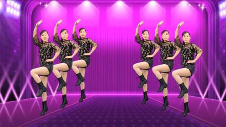 玫香广场舞 32步健身舞《风水轮流转》32步附教学