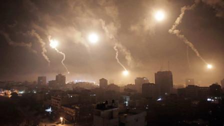 再次爆发冲突,以色列战机发动空袭,称躲到地道也难逃一劫