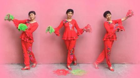 西岩广场舞 东北的冬东北的情 手绢舞 秧歌