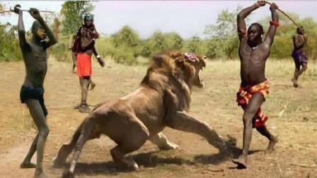 """让狮子都害怕的""""马赛人"""",到底有多厉害?看了就知道"""