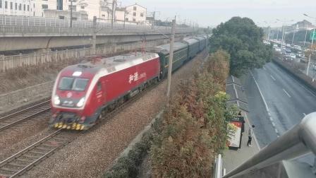 京沪线 上局徐段HXD1D牵引Z176次(杭州~哈尔滨西)出苏州站