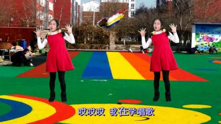 点击观看《亲子幼儿园儿童舞蹈 打电话》