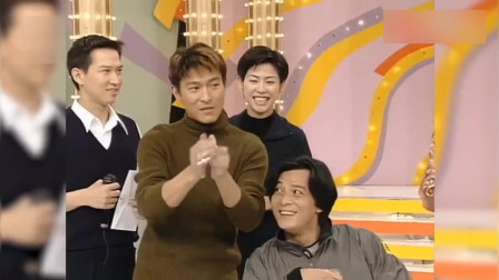 综艺:刘德华亲自为黄日华头发造型!