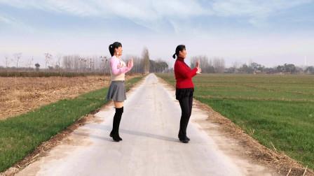 点击观看《农村妇女河北青青学跳32步广场舞因为爱着你》