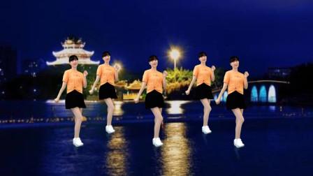 点击观看《阳光香果广场舞  32步步子舞分分钟钟就会》