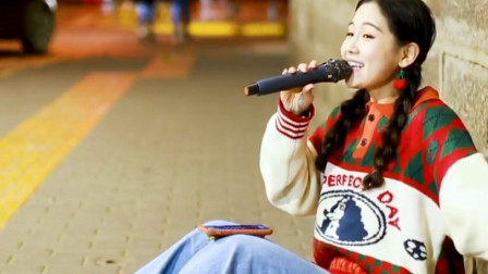 小姐姐走心翻唱《桥边姑娘》,笑容甜美,被天使吻过嗓音