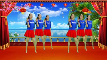 点击观看《姐舞动人生 喜庆广场舞《大花轿》轻松欢快》