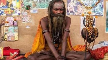 印度90岁瑜伽大师,自称77年从不进食,查看监控后才知原因