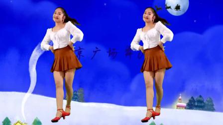 新年广场舞《铃儿响叮当》京京舞蹈视频好听又好看