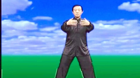 点击观看《传统气功武术教学 太极拳基础动作浑圆桩分解》