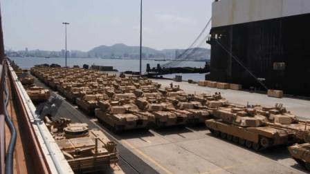 万吨巨轮进入泰国港口,卸下49辆中国新型装甲车,总价值超过43亿