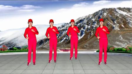 网红歌广场舞《八戒》节奏欢快动感时尚,活泼俏皮