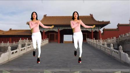 点击观看《中年大姐静儿舞蹈 轻松弹跳32步广场舞《爱情醉醉醉》》