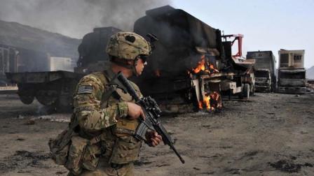 死伤惨重,美军基地再遭大批火箭弹袭击,下令将进行报复