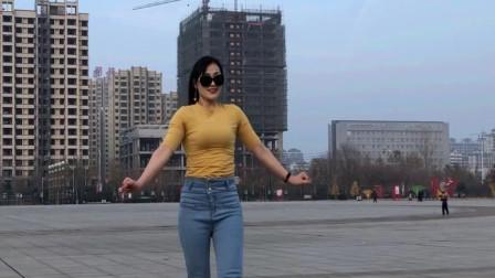 小媳妇青青世界学跳《追梦人》 初级入门舞蹈教程