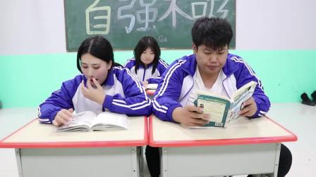 学霸王小九校园剧:学校考试同学们一个字没写,结果全班却都考了满分!原因太逗了