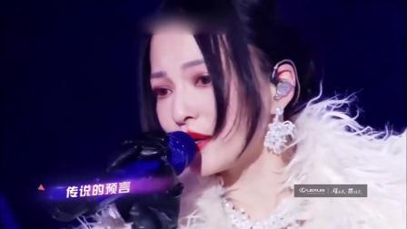冰雪盛典:张韶涵《欧若拉》,这首歌今年好火,还是原唱好听