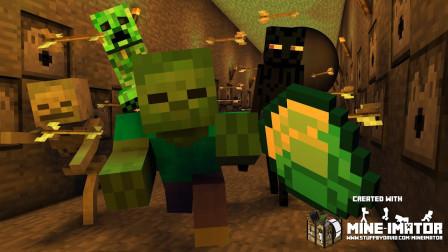 我的世界:怪物学员地下迷宫寻宝记