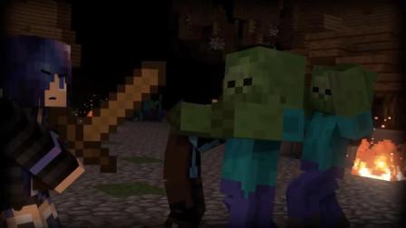 我的世界:最危险的地方中,僵尸村庄垫底,但玩法却很有趣!