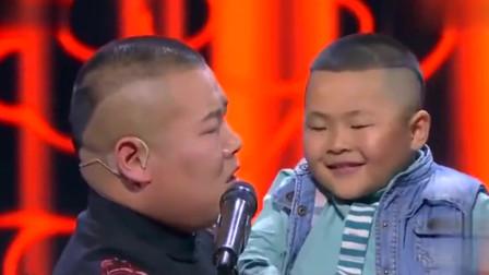 烧饼抱着孩子冲岳云鹏喊:你给我解释,这是怎么回事?