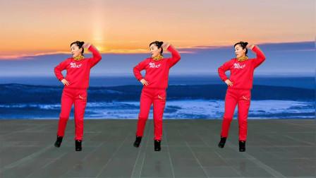 玫香广场舞《一生与你擦肩而过》网红64步舞蹈教学