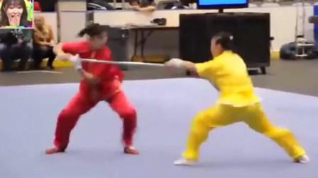 海外综艺:看中国武术对打,快速华丽的动作让日本嘉宾直呼太帅了!