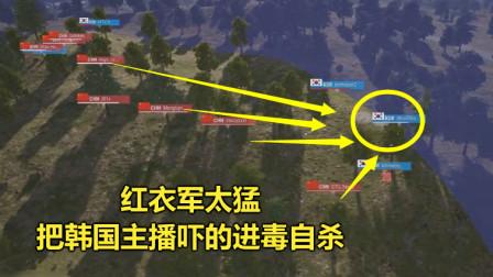 绝地求生:中国主播太牛,灭掉31个韩国选手,吓的最后1人自杀了