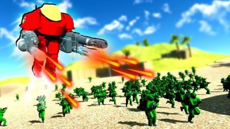 操纵激光武器击败军队 战地模拟器 小格解说屌德斯小熙小飞象面面鲤鱼Ace籽岷水蛭
