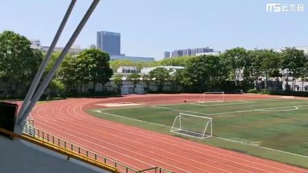 深圳富士康科技集团龙华科技园田径场和足球场