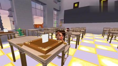 迷你世界:小表弟考试分数大公布,比鸭蛋还鸭蛋