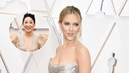2020奥斯卡颁奖礼红毯群星闪耀 女星盛装争艳