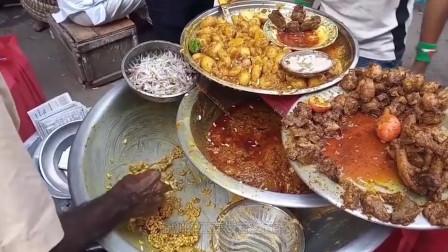 """""""精美绝伦""""的印度美食,生意好到爆炸,中国游客看到后却迷茫了"""