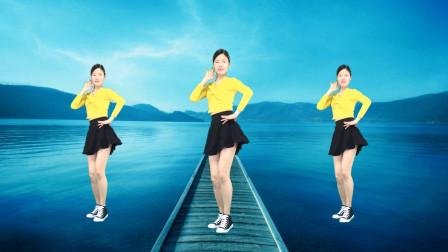 最近火爆流行的《炸山姑娘》网络歌曲健身广场舞