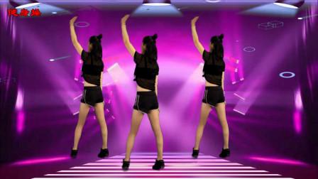 零基础健身操《最美的情歌dj》 鹤塘紫儿广场舞