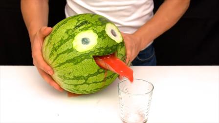15种国外最流行的西瓜吃法:每一种都很有创意,简直是天才的脑子