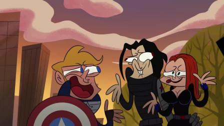 趣味动画:超级英雄美国队长