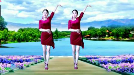 望月恋舞 恰恰广场舞64步《爱的风暴》