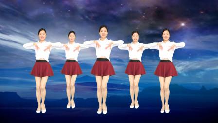 艾And幼广场舞《酒醉的雨滴》32步初学水兵舞基础步