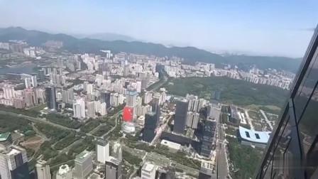 花180元登深圳第一高楼,俯瞰深圳,远眺香港,大家说值不值