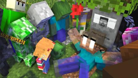 我的世界:怪物学院之史蒂夫被绑架了