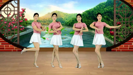 瘦身美体自由舞舞蹈视频《爱情堡垒》32步版本