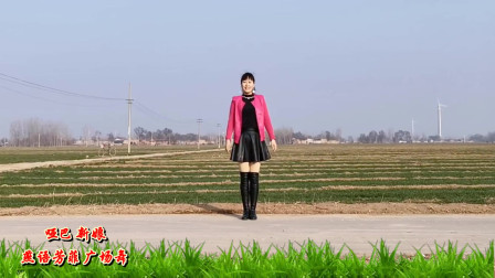 点击观看《燕语芳菲广场舞《哑巴新娘》16步》