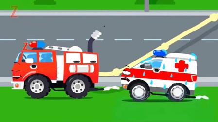 救护车把小伙伴们都得罪了,这可如何是好啊?汽车总动员游戏