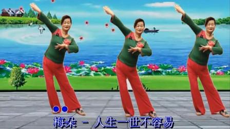 杭州依依广场舞《人生一世不容易》原创现代舞