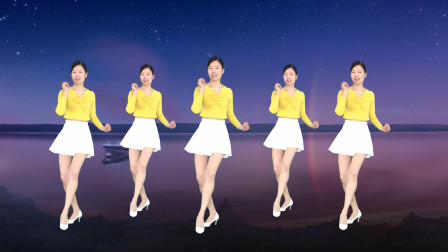 艾And幼广场舞 筷子兄弟成名曲《小苹果》简单32步附分解教学