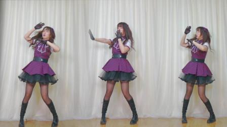 NANA现代舞视频《sexy love》影流分身术三胞胎一起跳