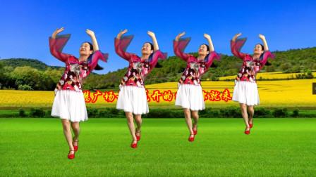 点击观看《三月网红火爆情歌《花开的时候你就来看我》小慧广场舞教学》