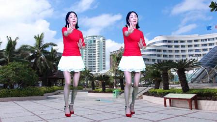 静儿广场舞 零基础32步DJ《没完没了》附分解教学 含正背面演示