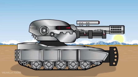 坦克世界动画:超级一号驰聘沙场,打遍天下无敌手